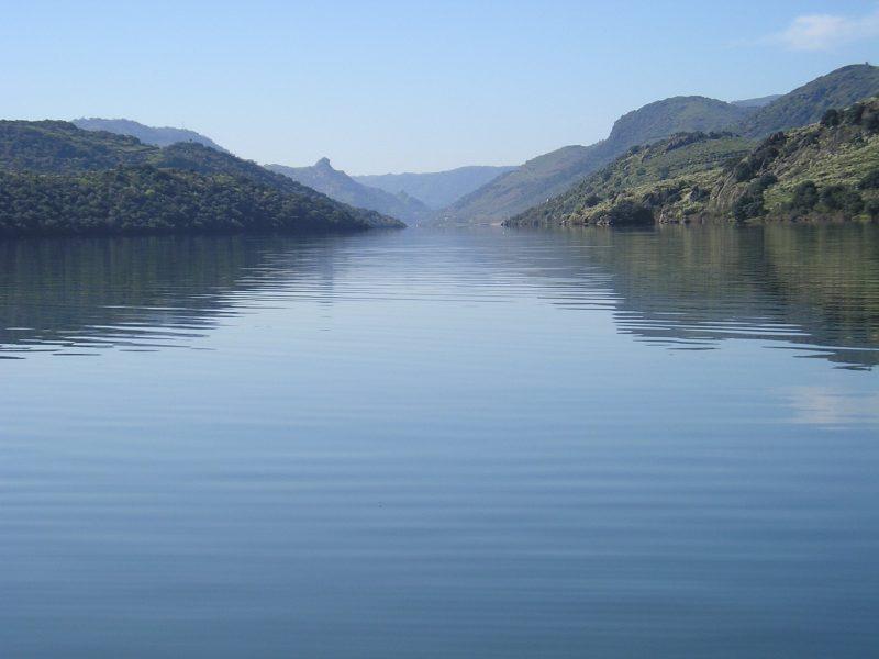 Vistas del río Duero
